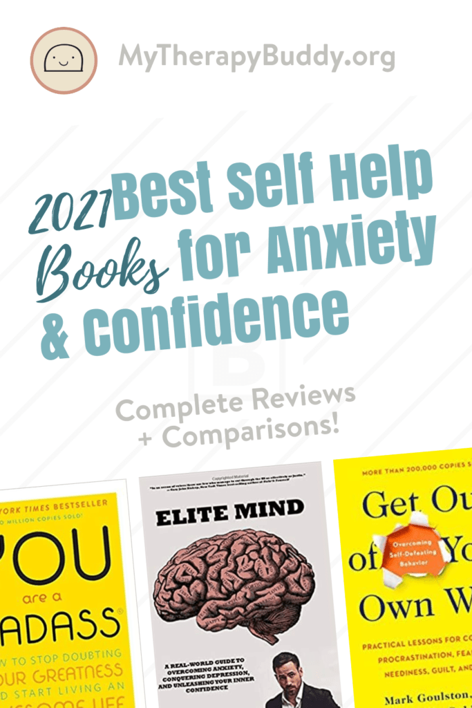 Self Help Books for Anxiety and Confidence of 2021
